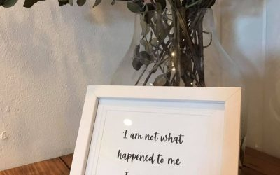 """I am not what happened to me. I am what I choose to become…"" – Carl Jung"