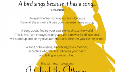 Sing with me, rise up and Unleash the Warrior!
