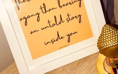 Tell your story…
